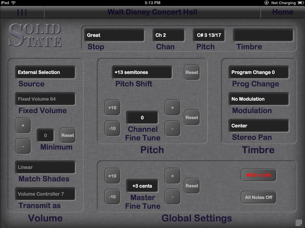 MIDI for Pipe Organs